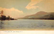 Lake George Ny Black Mountain~Rotograph #1289 Publ Postcard 1900s