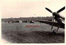 Jagdflugzeuge Me Bf 109 Jagdgeschwader 3 Fliegerhorst Desvres Frankreich