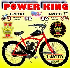 66cc/80cc 2-Stroke Motorized Bike Kit And 26� Cruiser Bike Diy Motor Bike Power