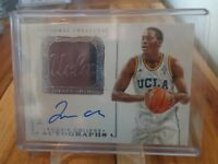2014-15 PANINI NATIONAL TREASURES JORDAN ADAMS AUTO /99 UCLA