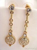 Prom Bridal Rhinestone Crystal Dangle Drop Pierced Fashion Earrings
