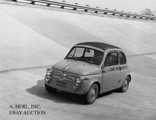 Fiat 500 Abarth 1958 – world record breaking marathon Monza circuit 1958 - photo