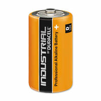 Duracell Industrial 1.5V Batteries High Power Alkaline LR20 D Type Battery 1 Pk