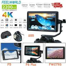 FEELWORLD F6 PLUS/S55/FW279S/F5 Full HD 4K HDMI On-camera Video Monitor for DSLR