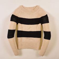 GAP Damen Pullover Sweater Strick Gr.XS (DE 36) Schwarz Beige, 38908
