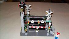 Choice LEGO Custom Train RR Railroad Signs Signals Crossings Track Lights