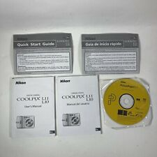 Nikon Coolpix L10 L11 Manual Quick Start Guide English Spanish Picture Project