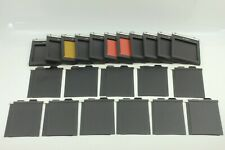 【EXC 】 Lot of 11 Lisco REGAL II 4x5 Cut Film Holder Large Format from JAPAN