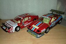 lote pack burago ferrari 512 BB de 1979 y ferrari 308 GTB 1:24 maqueta coche
