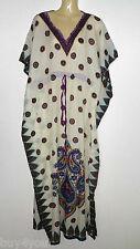 Maxikleid Strandkleid Sommerkleid Kaftan Boho Goa Hippie Takshita Kimono Indisch
