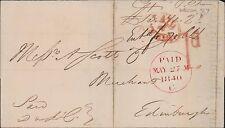 1840 David & John Cooper, Leeds - A Scott, Merchants, Edinburgh. Wool   QS.958