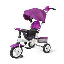 Dreirad Kinderwagen Fahrrad Kinder 1-5 Jahre Farbe Violett klappbare Travel plus