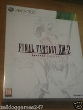 FINAL FANTASY XIII - 2 COLLECTOR'S Crystal Edition (Xbox 360) NUOVO SIGILLATO MOLTO RARO