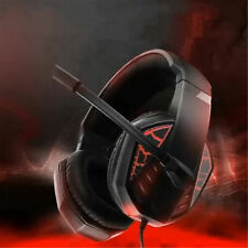 More details for stereo e-sports gaming headset for pc ps4 xbox one laptop over-ear headphones