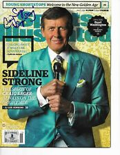 TNT ANNOUNCER CRAIG SAGER signed autographed SPORTS ILLUSTRATED SI BECKETT COA