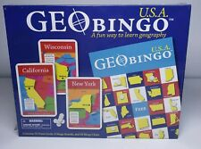 GeoToys Geo Bingo Usa Brand New Sealed