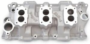 EDELBROCK SBC Three Deuce Manifold - 262-400 P/N - 5419