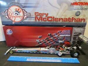 2003 ACTION NHRA CORY MCCLENATHAN NY YANKEES 1:24 DIECAST TOP FUEL DRAGSTER MINT