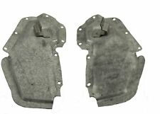 1967 1968 1969  Camaro & Firebird Convertible Inner Quarter Panel Plates Pair