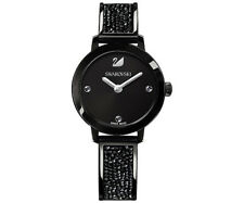 Swarovski 5376071 Cosmic Rock Watch, Black Crystal/Black Tone RRP$499