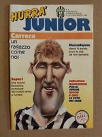 HURRA' JUNIOR N. 4 1992 HURRA' JUVENTUS MASSIMO CARRERA