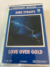 RARE cassette audio  K7 DIRE STRAITS LOVE OVER GOLD NEUVE