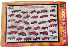 1000 piece Jigsaw Puzzle Vintage Fire Engines Eurographics NEW Gift for Fireman