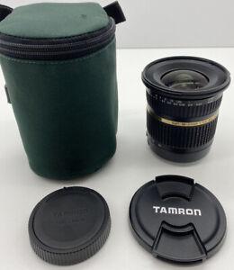 Tamron SP 10-24mm 1:3.5-4.5 Aspherical F:3.5-4.5 DI II Macro Lens Canon