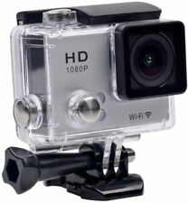 TEC+ Full HD 1080p WiFi Waterproof Action Camera & Mounting Accessories - Silver