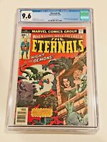 THE ETERNALS #4 CGC 9.6 KEY 2ND SERSI W/ANGELINA JOLIE AS SERSI IN MOVIE! HOT!