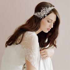 Trend Wedding Bridal Crystal Headband Pageant Prom Tiara Hair Accessories Crown