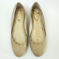 Sam Edelman Womens Shoes Finnegan Ballet Flats Tan Nude US 7.5 M EU 37.5 Leather