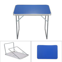 Aluminum Portable Adjustable Folding Table Camping Outdoor Picnic Party BBQ UK