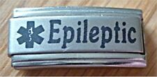 Italian Charms L41 Medical Alert Epileptic Epilepsy