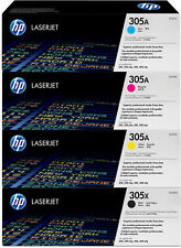 4x HP TONER LaserJet Pro300 400 M351A M375NW M451DN M451DW M451NW 305A 305X Set