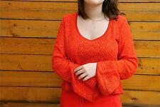 pull crochet 100% modal KANABEACH margueritte TAILLE 38  valeur 99€