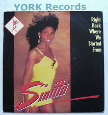 """SINITTA - Right Back Where We Started From - Excellent Condition 7"""" FAN 18"""