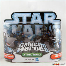 Star Wars Galactic Heroes Mandalorian Warrior and Pre Vizsla figure 2 pack