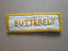 Butterfly (Style 4) Woven Cloth Patch Badge