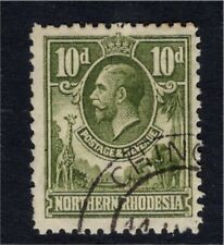 Northern Rhodesia GV 1925 10d Fine Used