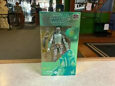 "Star Wars Black Series 6"" Inch Figure NIP Sealed - 2020 40th METALLIC BOBA FETT"