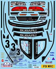 1/10 Decal Rally Set Subaru Impreza WRC 1998  Tamiya TA01 TA02 TT01