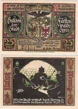 Allemagne 25 pfennig 1921 NOTGELD Furstenwalde UNC banknote