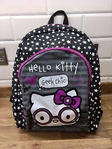 Marks and spencer hello Kitty girls back pack school bag rucksack