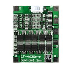 4S 30A 14.8V Li-ion Lithium 18650 Battery Cell BMS PCB Protection Board Balance