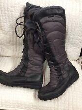Timberland Women's Puffer Knee High Tall Waterproof Boots Sz 11 Lace Up