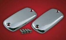Yamaha Royal Star Venture - smooth CHROME Master Cylinder CAPS/LIDS (pair)