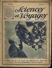 Sciences et voyages n°212 du 20/09/1923 Télescope Potasse Fidji Indochine Saïgon