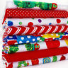FQ Bundle - The Very Hungry Caterpillar - Red / Multi x 8 - Fat Quarter - Cotton
