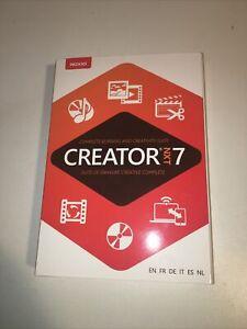 Roxio Creator NXT 7 CD/DVD Burning & Creativity Suite PC Disc